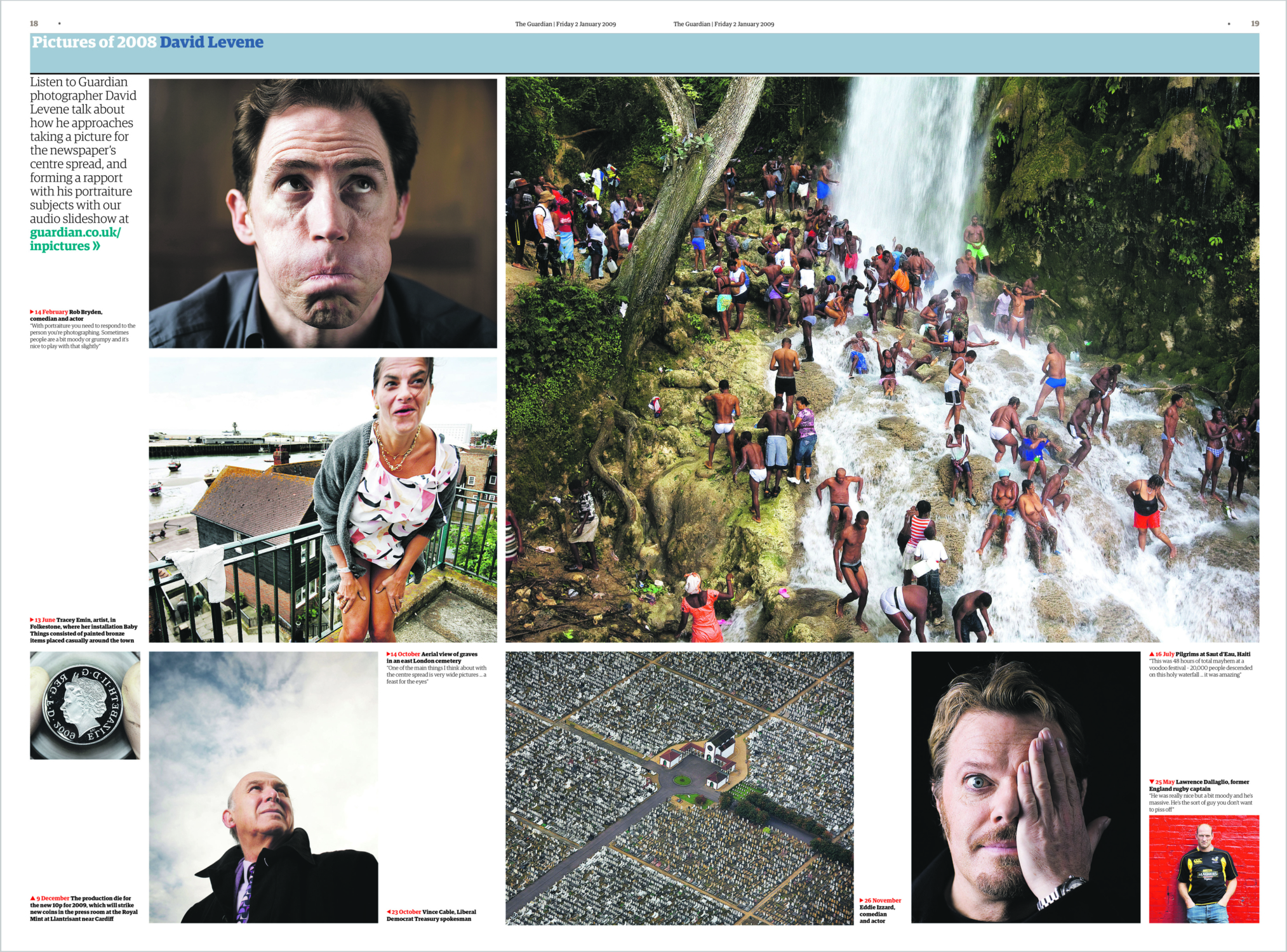 David Levene's best photographs from 2008